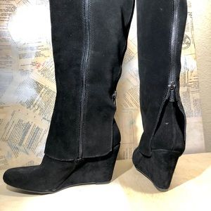 Jessica Simpson Shoes - NWOB Soft Leather knee-high wedge boot